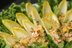 Chicken Salad in Endive